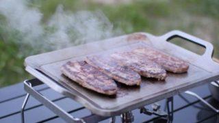 極厚鉄板で焼き肉